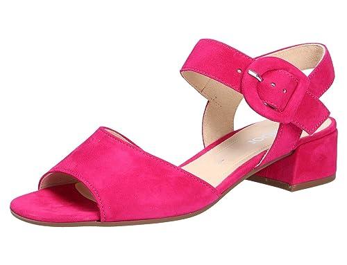 kinder begehrteste Mode detaillierte Bilder Gabor Damen Sandaletten 21.702.13 pink 623070: Amazon.de ...