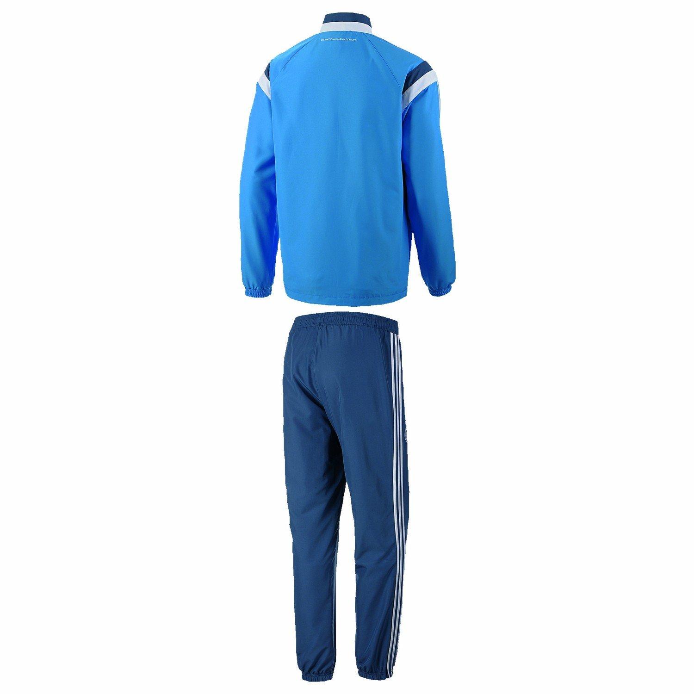 Adidas Performance DFB PRE SUIT Track Suit Chandal Futbol Azul ...