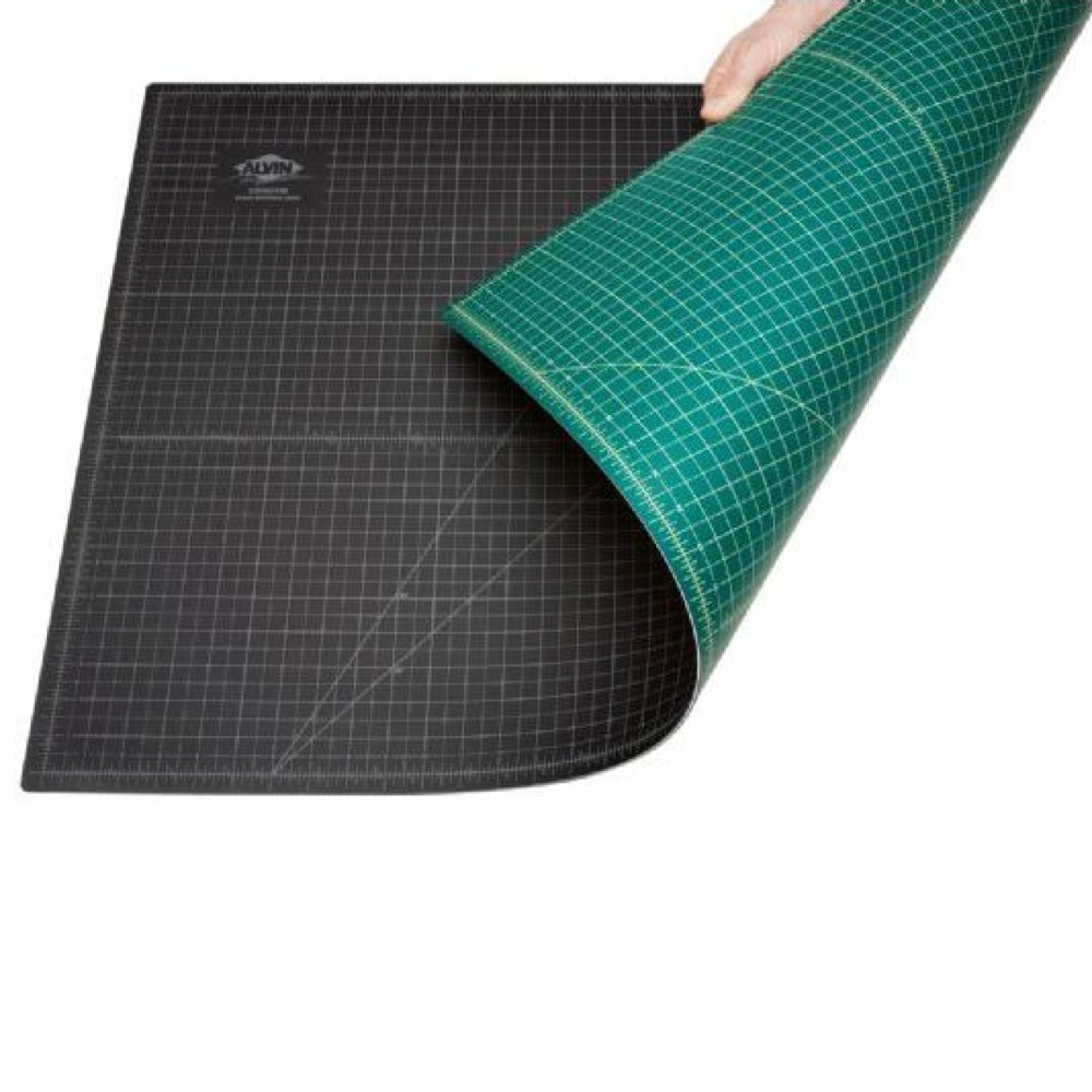 Alvin GBM Series Green/Black Professional Self-Healing Cutting Mat 36 x 48 Alvin & Company Inc. GBM3648