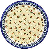 Polish Pottery 11'' Stoneware Plate