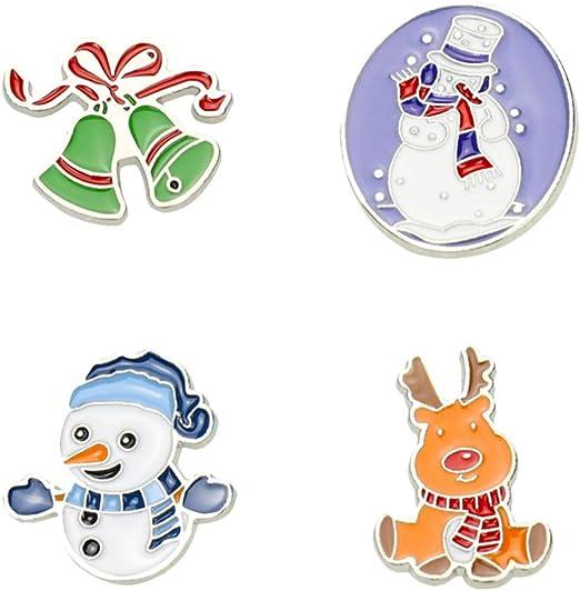 Broche de Noël Bonhomme de Neige de Noël Cadeaux de Bijoux