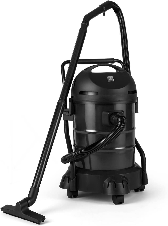 Lakeside DURAMAXX Powerplus Bomba de inmersión aspira barro, lodos, follaje (1200 vatios, depósito 30 litros, 3 accesorios) negra, negro 1200.00 kilowattsW: Amazon.es: Bricolaje y herramientas