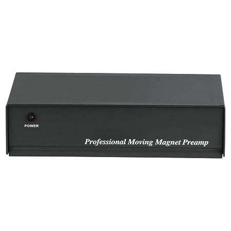Hama PA 506 - Preamplificador de Fono (230 V, 50 Hz, 300 mA), Negro