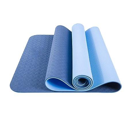 Colchonetas de yoga con bolsa de 183x80 cm de grosor 6 mm ...