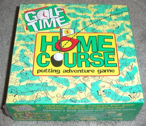 Miniature Golf Course (Golf Time Home Course Putting Adventure Game for Home or Office - Portable Miniature)