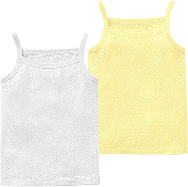Camiseta Interior para Niño Niña Bebé Paquete De 2 Camiseta sin ...