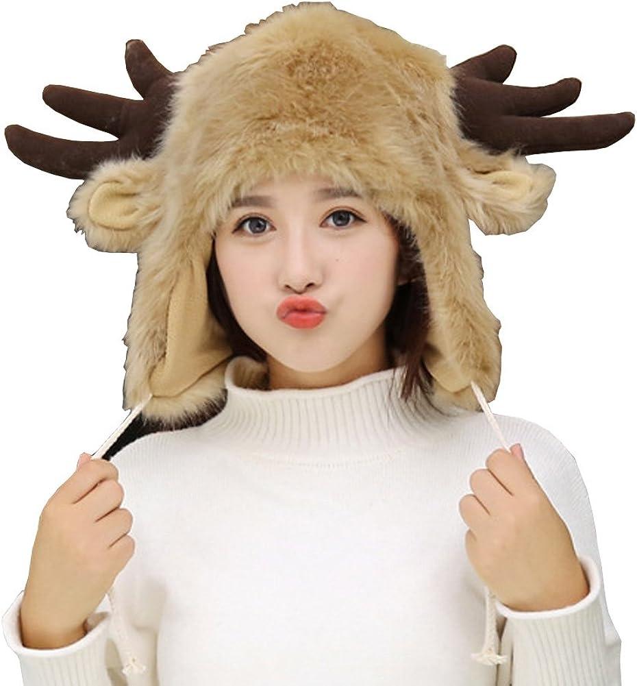 Sheliky Christmas Hat Fur...