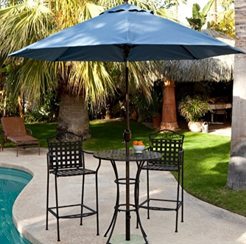 wrought iron patio dining set - 5