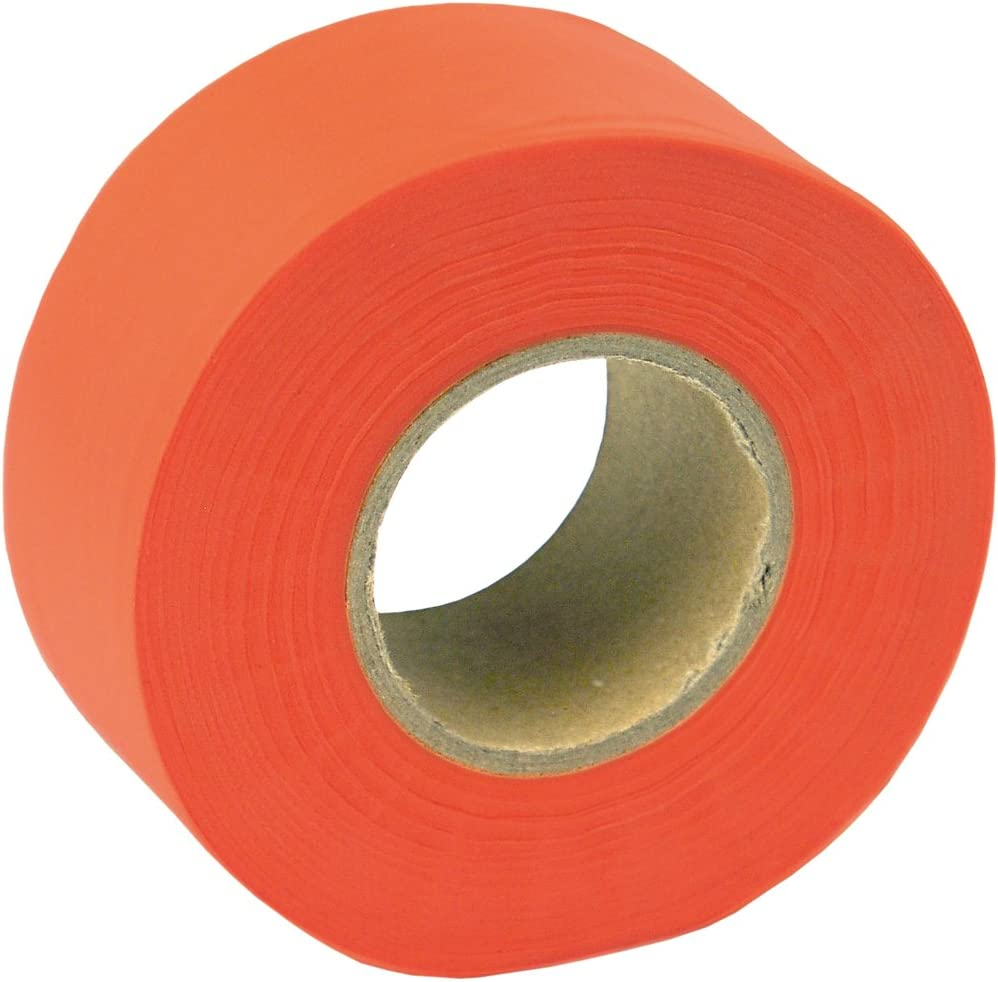 2xOutdoor Marking Ribbon Flagging Tape Trail for Marking Stakes Trees Pink