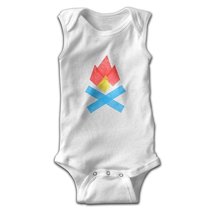 8a3bed82e Amazon.com  Pullan Eudora Camping Campfire Unisex Baby 100% Cotton ...