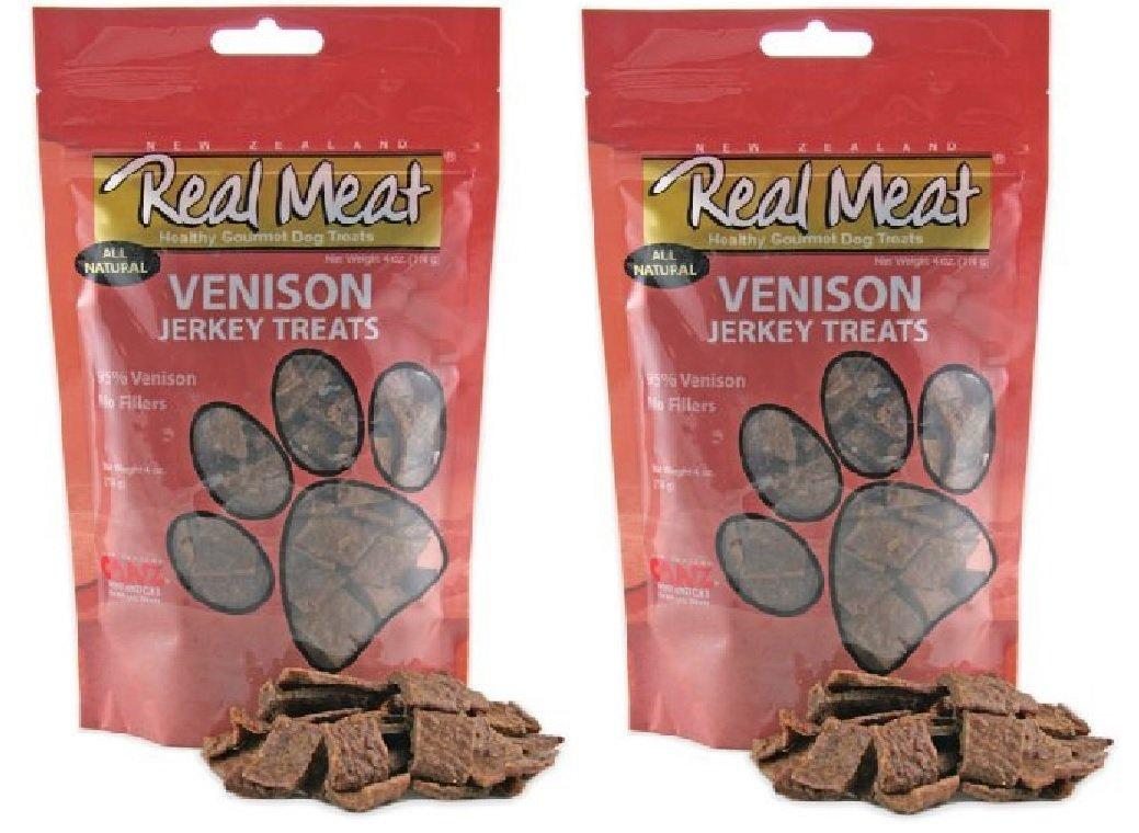 Real Meat Venison Jerky Dog Treats 24 oz