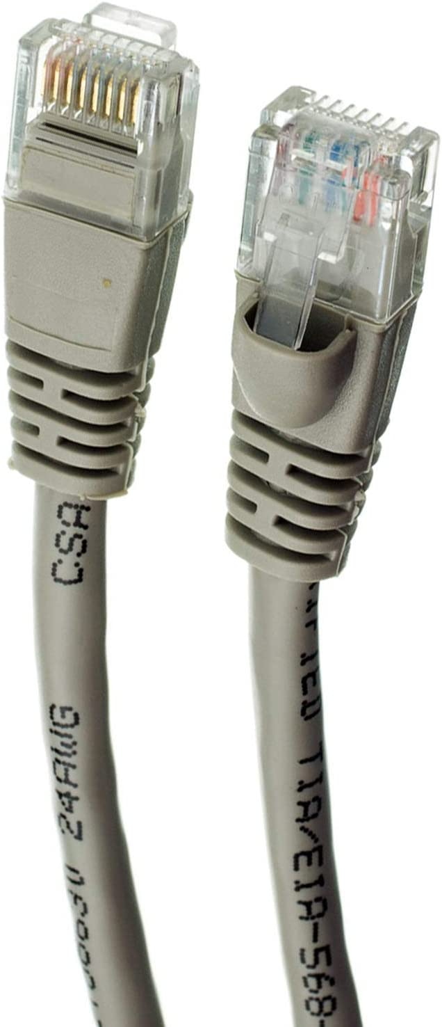 Cat6 Ethernet Cable Available in 28 Lengths and 10 Colors UTP 1 Feet - Yellow RJ45 10Gbps High Speed LAN Internet Patch Cord GOWOS 10-Pack Computer Network Cable with Snagless Connector
