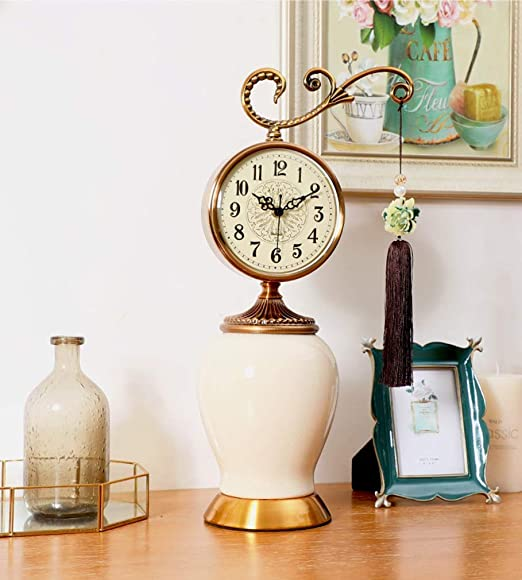 Relojes de repisa de época, Reloj de mesa de escritorio de adorno ...