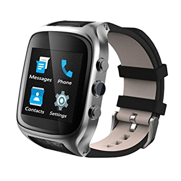 Reloj inteligente X01S STANDALONE Xinyi teléfono con sistema android de pulsera con hueco tarjeta SIM cámara