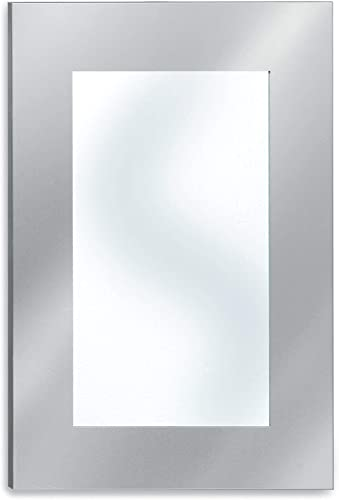 Blomus Stainless Steel Large Mirror Wide Frame