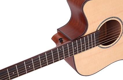 Más información sobre las descripciones AM-4188C dreadnought 104,14 cm de corte de la guitarra acústica: Amazon.es: Instrumentos musicales