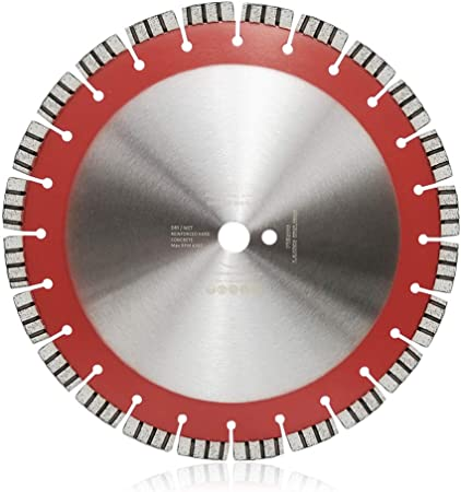 "2 Pcs 14/"" Diamond Saw Blade Concrete Marble Brick Block 8 mm Segment Height"