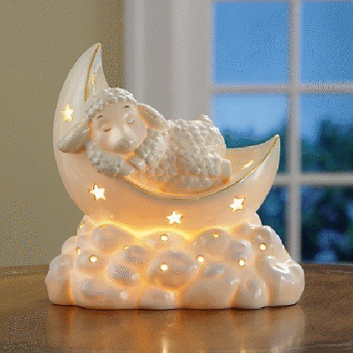 Lenox Lazy Lambs Lighted -