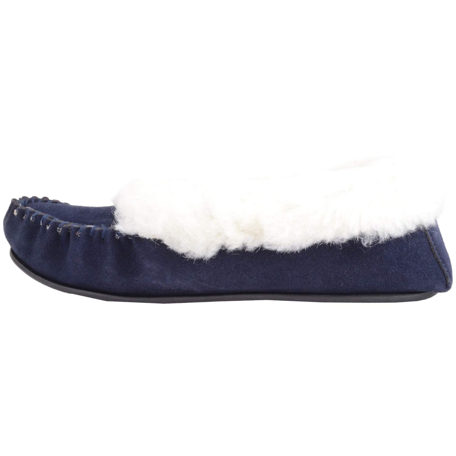 7f7292109 SNUGRUGS Women's Layla Low-Top Moccasin Slippers: Amazon.co.uk: Shoes & Bags