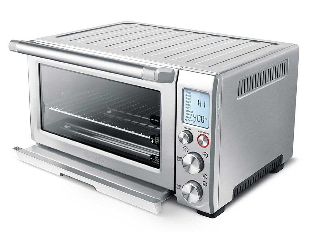 "Breville Smart Oven Pro (Certified Refurbished), 18.5"" x 14.5"" x 22.8"", Silver"