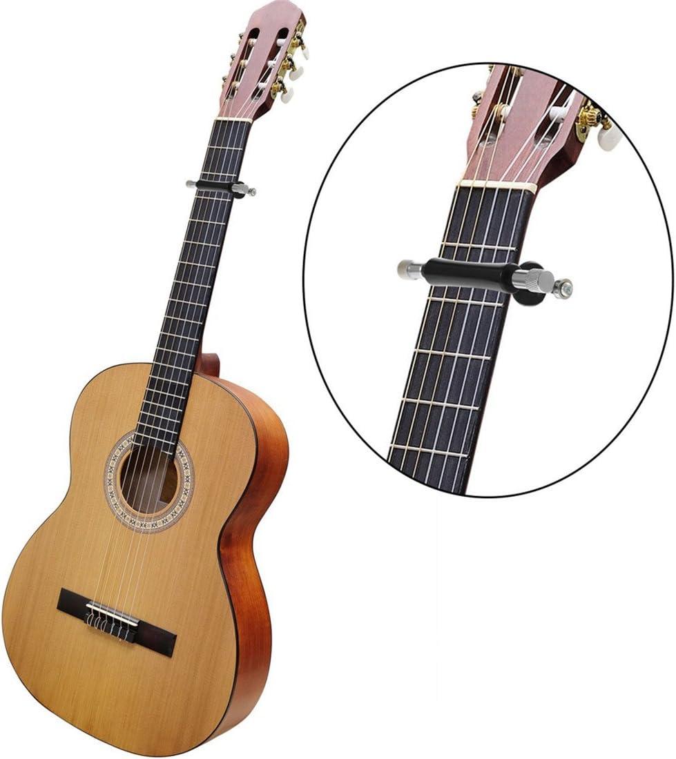 Yesiidor Cejilla universal de metal para guitarra (se desliza ...