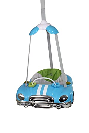 Babylo Car Doorway Baby Bouncer (Blue)  sc 1 st  Amazon UK & Babylo Car Doorway Baby Bouncer (Blue): Amazon.co.uk: Baby