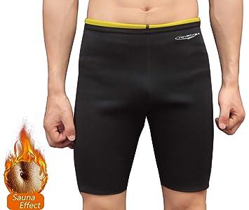 Fat Novecasa Sauna Shorts Burning Homme Court Musculation Néoprène Pour Pantalon Transpiration Minceur Abdomen FK1JTl3c