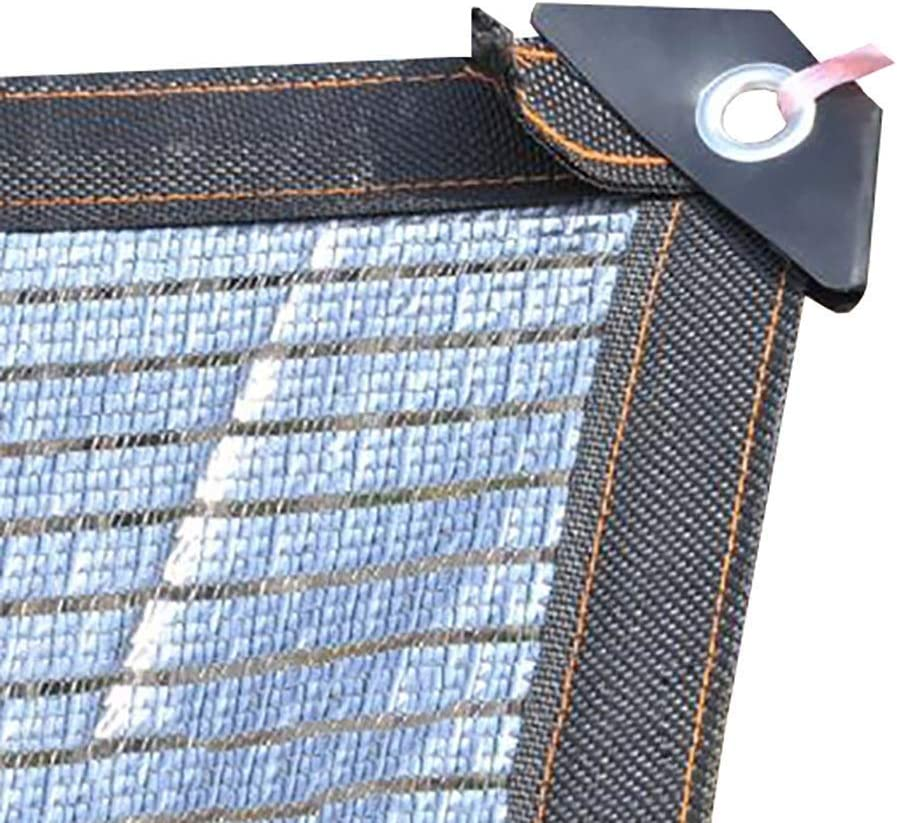 Shade Cloth 75-80% Reflective Aluminet, Shading Cooling Net Sunshade for Gardens Farms Carports Roofs Greenhouses (Size : 3m×6m(10ftx20ft))