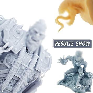 KKmoon Impresora 3D Fotocurado Estereolitografía Grado técnico LCD ...