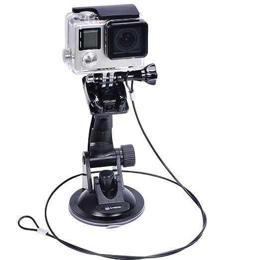 60 opinioni per Smatree Supporto a ventosa +Acciaio Inossidabile Fune per GoPro Hero