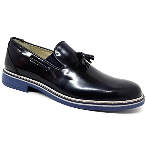 weenchester Mocasines Para Hombre Azul Turquesa Azul Size: 45 EU: Amazon.es: Zapatos y complementos
