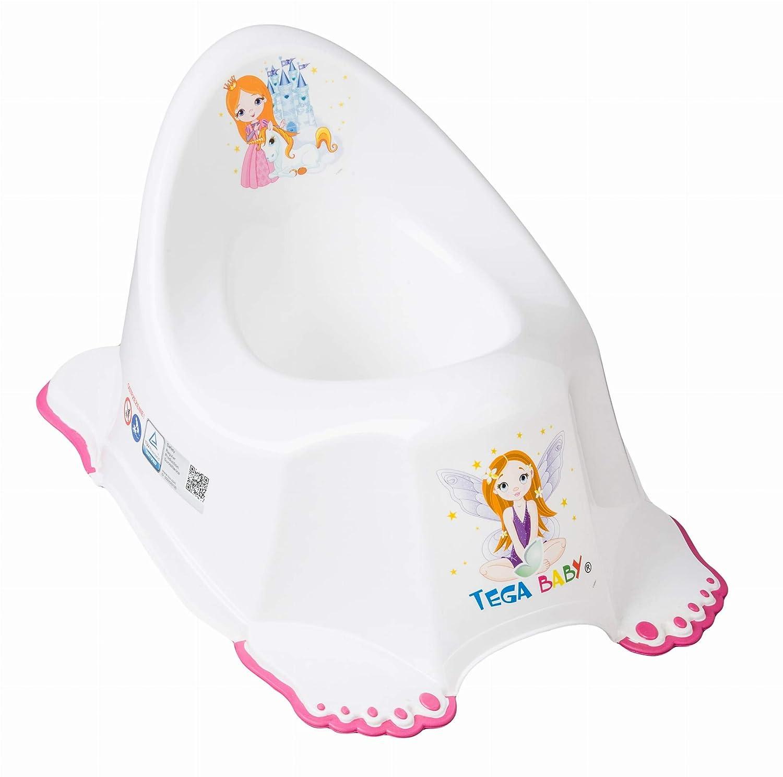 WC Aufsatz f/ür Babys Babytopf//Trittschemel//Kinder Toilettensitz rutchfest Komplett Set weiss Prinzessin M/ädchen Set Kindertopf Kinder Tritthocker 3 tlg