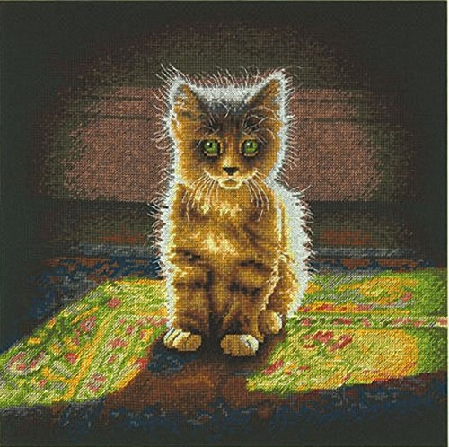 Dimensions Needlecrafts Warm and Fuzzy Kitten Counted Cross Stitch