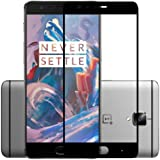 Blaspheme™ Premium Edge to Edge Tempered Glass Screen Protector for OnePlus 3 /3T (Black) [No Rainbow Guarantee]