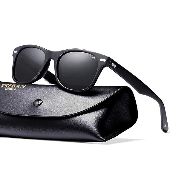 TSEBAN Retro Gafas de Sol Mujer Polarizadas UV400 Protección para Viajes Conducir