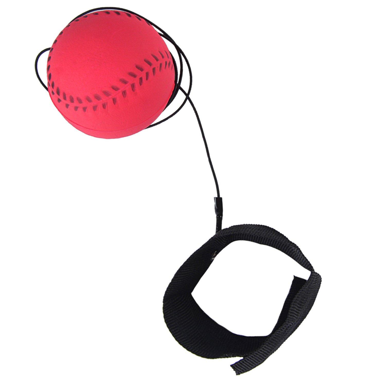 Stringa Palla Giocattolo Alleviare Lo Stress Palla Rimbalzante Pallone da Allenamento in Gomma Giocattolo per Bambini Joyibay Polso Gruppo Musicale Palla