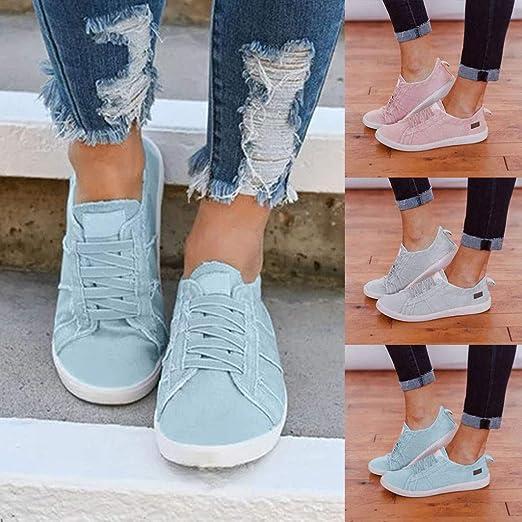 Vovotrade - Zapatillas de deporte para mujer, ligeras, para el ...
