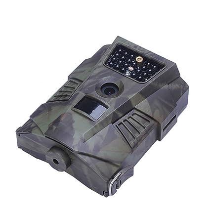 JXWANG Cámara Infrarroja De 12MP 1080P HD De La Cámara del Rastro De La Fauna con El Diseño Impermeable De IP 56 para La Vigilancia Al Aire Libre Y De La ...