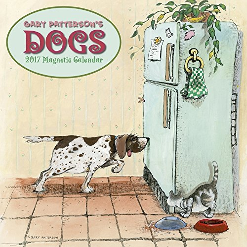 2017 Gary Patterson's Dogs Magnetic Mount Wall Calendar