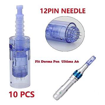 Derma Pen Dr Pen Ultima A6 Needles Derma Pen Needle Cartridges Dr Pen  Microneedling 12Pin/36Pin/42Pin &Nano Neelde Cartridges,Tips Derma roller  by