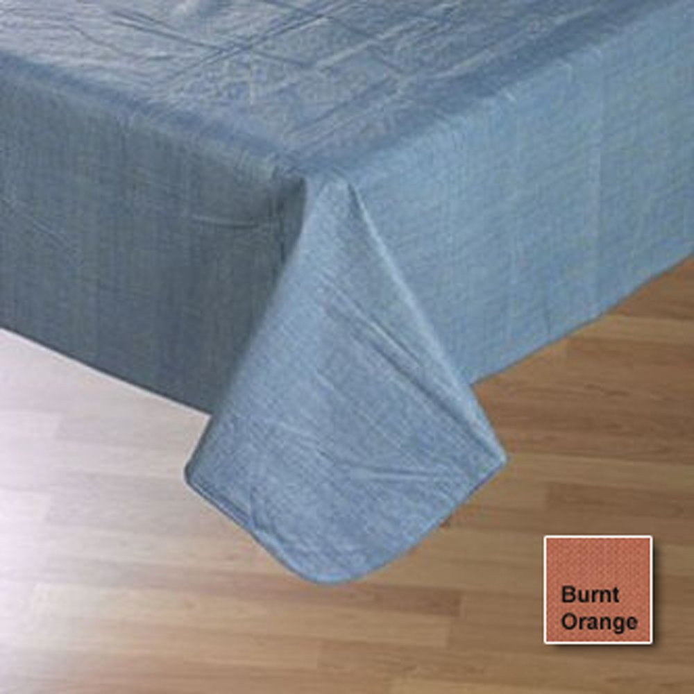 Amazon.com: Cafe Deauville Chambray 60x84 Oval Vinyl Tablecloth [Kitchen]u2026:  Home U0026 Kitchen