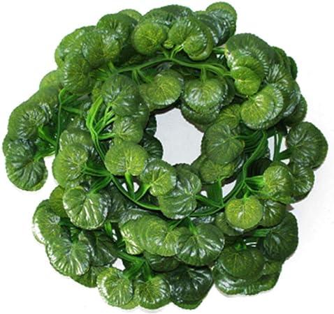 Set Produits pour Maison//Cuisine JER Feuilles Begonia Faux artificielles lianes v/ég/étales Grandes Feuilles Garland pour la d/écoration dint/érieur ext/érieur 12pcs