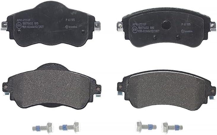 Set of 4 Brembo P61105 Front Disc Brake Pad