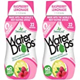 SweetLeaf Raspberry Lemonade Waterdrops, 2.16 Ounce (Pack of 2)