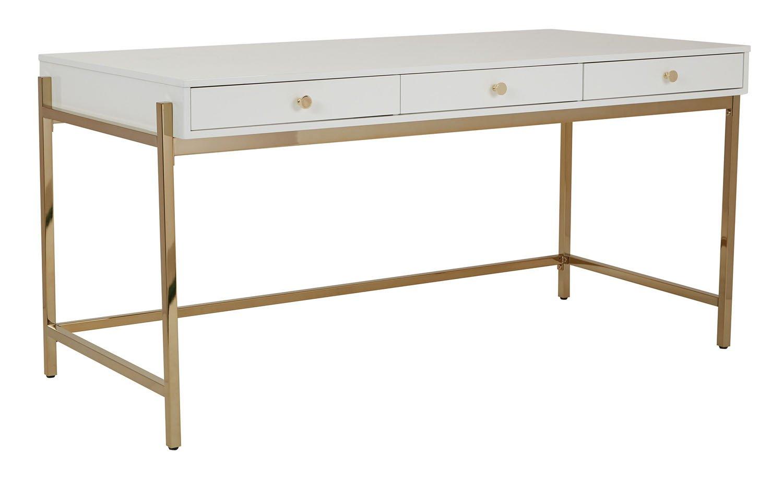 Comfortable Desk Osp Designs Park Avenue Writing Desk In