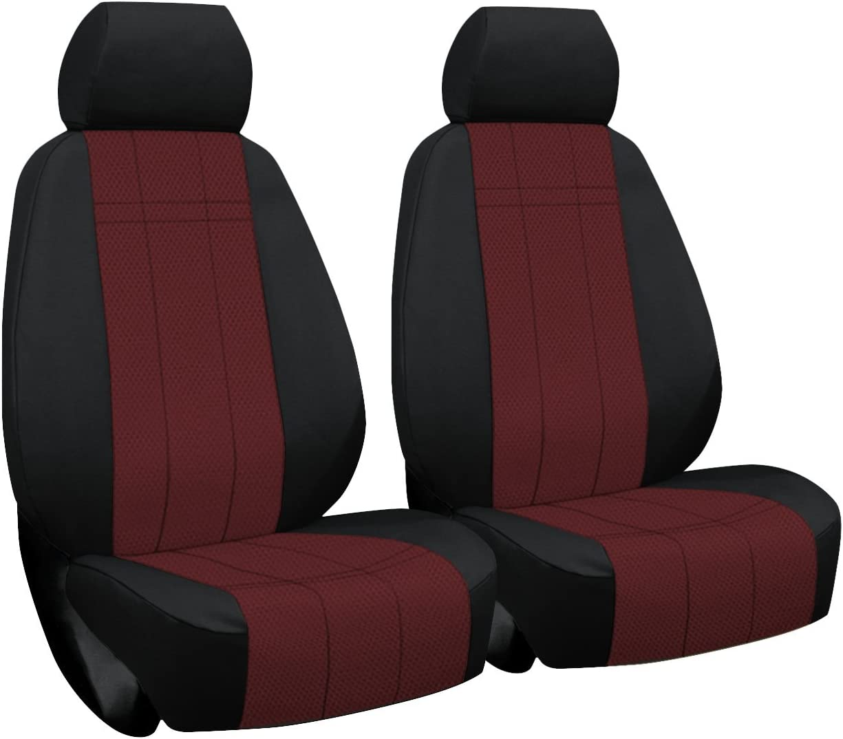 2012-2015 TRD and X Runner in Black for Sport Buckets w//Adjustable Headrests Front Seats: ShearComfort Custom Waterproof Cordura Seat Covers for Toyota Tacoma