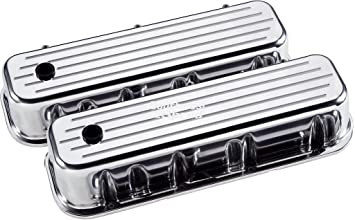BILLET SPECIALTIES POLISHED ALUMINUM BBC TALL VALVE COVERS,BIG BLOCK CHEVY