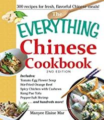 Make your favorite dishes at home!Chinese takeout is a go-to solution for busy nights, but typical Chinese restaurant fare can be loaded with fat, sugar, and salt. With The Everything Chinese Cookbook, 2nd Edition, you can make healthier (and...