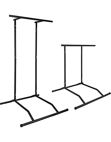 Popsport 330LBS Pull Up Dip Station Power Tower Station Multi-Station Power Tower Workout Pull