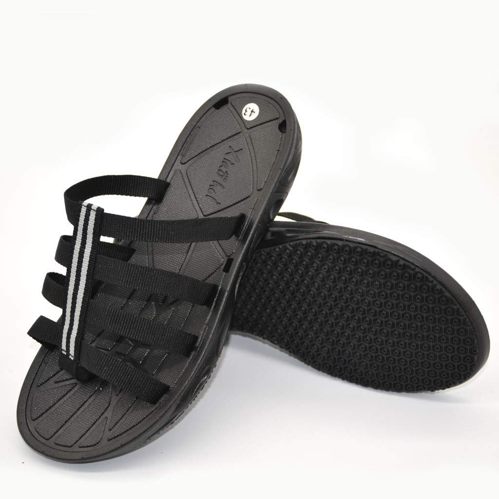 Shower Sandal Bath Flat Slippers Non-Slip Indoor Home House Pool Shoes Men Beach Slippers
